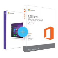 Windows 10 Pro + Office 2019 Pro 日本語版